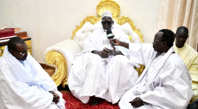 Vidéo: Message du Khalif général des Mourides par la voix de Serigne Fallou Mbacké 1ère nuit ramadan 2020