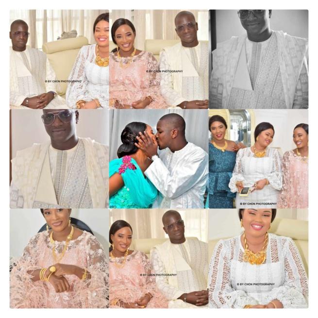 VIDÉO: Pape Madiop dit Papy Amar, fils du défunt Ameth Amar de NMA Sanders et Mamy Diakhaté donnent le nom de Sokhna Diarra Bousso à leur fille.