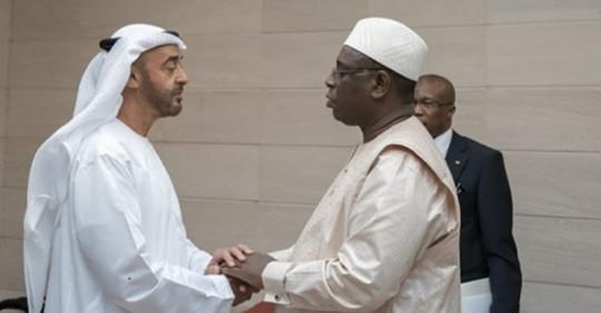 Entretien téléphonique entre Macky et le prince héritier d'Abu Dhabi « l'ami intime de Karim »