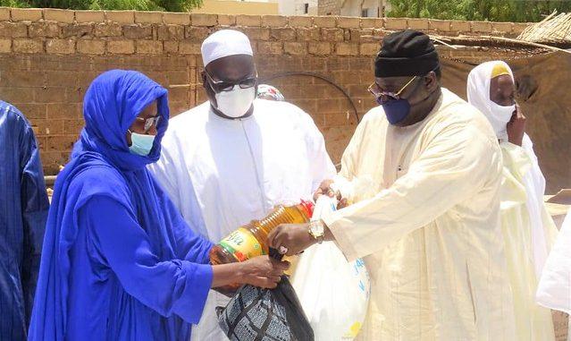 Serigne Bassirou Mbackè Khadim Awa Bâ récidive avec 35 tonnes de rix et 600 bouteilles d'huile