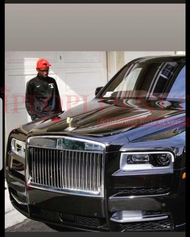 VIDÉO: Bamboula du fils du ministre et beau frère de Macky Sall, Mansour Faye, Amadou M faye se tape une Ferrari rolls à 100 millions à Los Angeles.