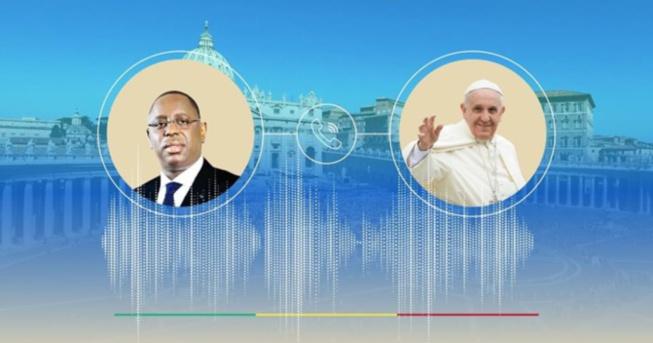 Covid-19, annulation de la dette des pays africains : Le président Macky Sall s'entretient avec le Pape François et l'invite à effectuer une visite au Sénégal.