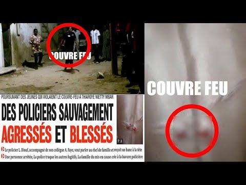 Thiaroye Mbar:Des policiers @tt@quent s@uv@gement la maison d'un Imam en couvre-feu.Toute la vérité !