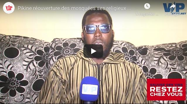 VIDÉO PIKINE: Réouverture des mosquées ses religieux se prononcent
