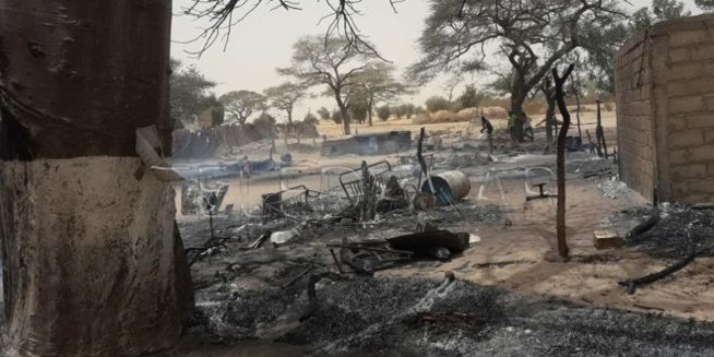 Louga: violent incendie au village de Ngoundioura Diop…