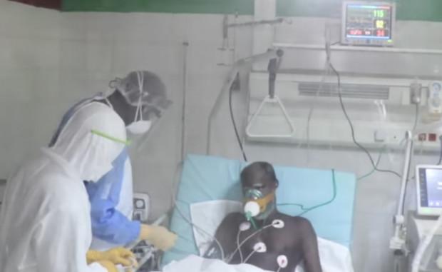 Vidéo Coronavirus : Voici les malades en réanimation au cœur l'hôpital Principal de Dakar (âmes sensibles s'abstenir)