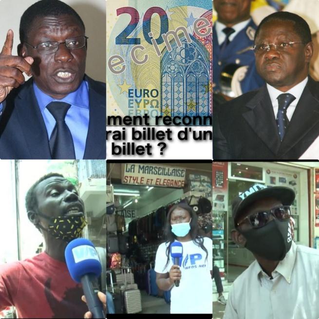 VIDÉO AFFAIRES FAUX BILLET: Farba Senghor et Pape Diop cités, regardez les surprenantes réactions des Sénégalais