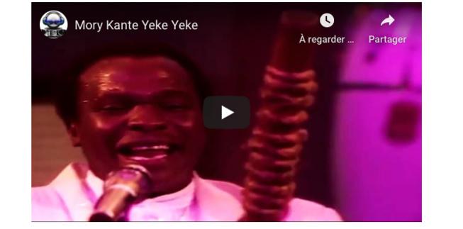 L'Afrique perd une icône de sa musique: Mory Kanté, auteur du célébre ''Yéké-Yéké'', s'est éteint à l'âge de 70 ans