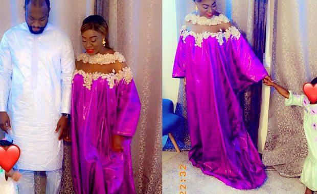 Bijou Ndiaye en toute complicité avec son mari