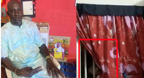 Assane Diouf arrêté et menotté par des hommes en direct sur Facebook vers 6 h du matin