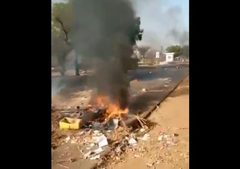 Urgent-Manifestation des transporteurs sur l'axe Tivaoune-Thiés(Vidéo)