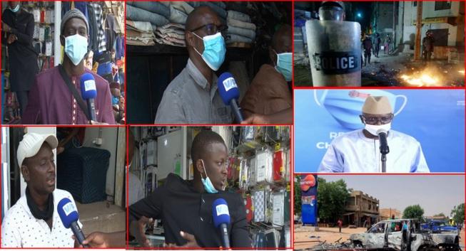 Levée des restrictions du couvre-feu : Regardez l'avis de la population sur les manifestations d'avant hier au Sénégal