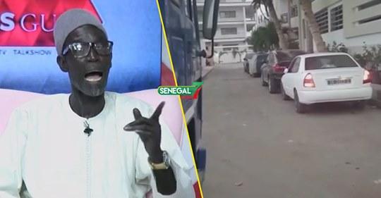 Guiss Guiss – Quand Père Mbaye Ngoné arrive avec la voiture que Bougane Lui a offert