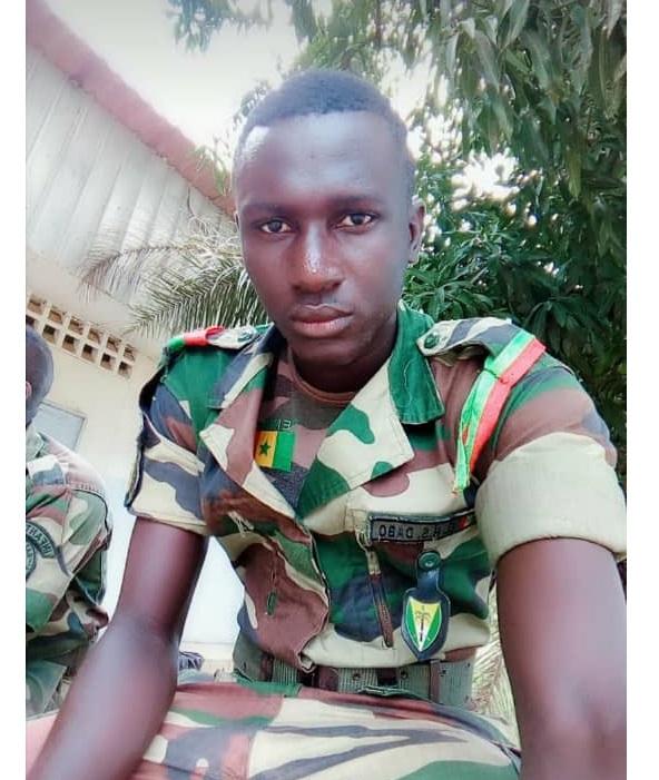 Voici les deux militaires Sénégalais qui ont perdu la vie après l'explosion d'une mine à Mbissine