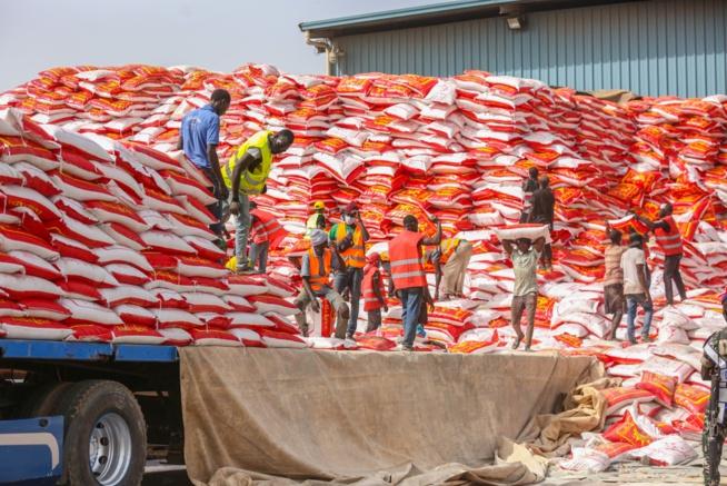 Aides alimentaires : 304 communes, soit un taux de 55%, ont reçus leurs vivres