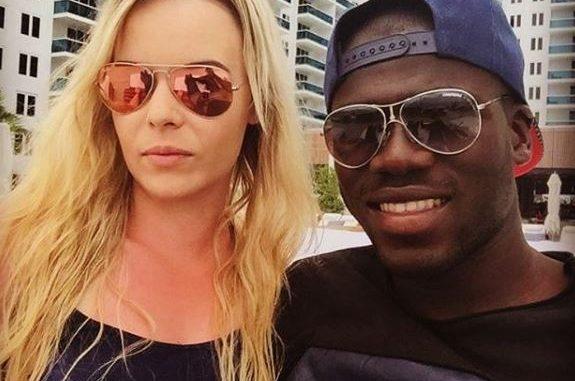 Kalidou Koulibaly s'affiche en parfaite complicité avec sa femme