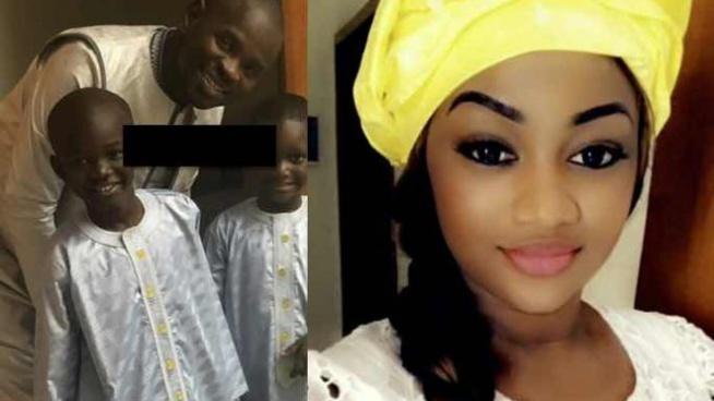Kya Aidara Diallo s'énerve et insulte ses followers sur les photos avec son mari et ses fils « Niakh nguen nd***ye xorom »