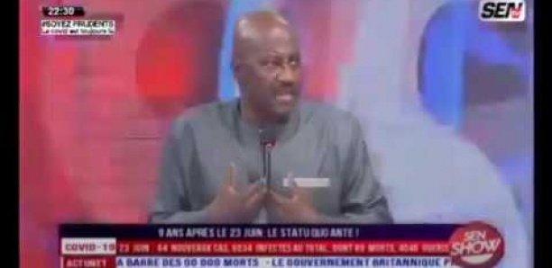 Le Commissaire Boubacar Sadio explique le film de sa convocation