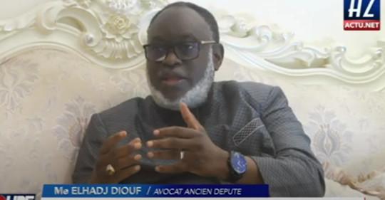ME El Hadji DIOUF met en garde Macky SALL: « Essayer de briguer un troisième mandat serait sa mort »