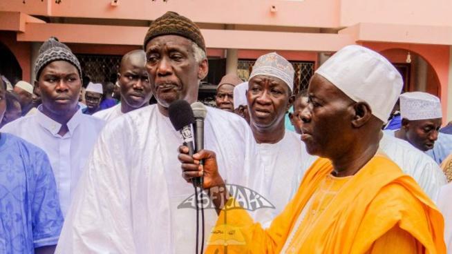 Inhumation de Pape Malick Sy : La prière mortuaire dirigée par Serigne Mbaye Sy Abdou