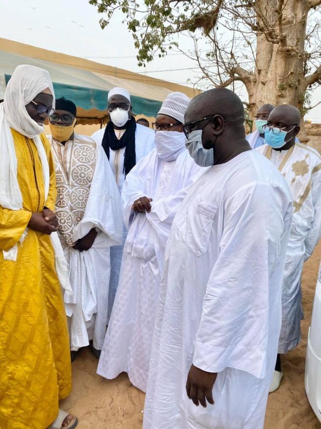 Thiénaba Seck: Serigne Bass Abdou Khadre a présenté les condoléances de Touba