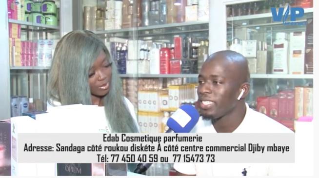 """Les révélations explosives d'EDAB Cosmétiques, Parfumerie """"Roukhou diskett"""" à coté centre commercial Djily Mbaye Sandaga."""