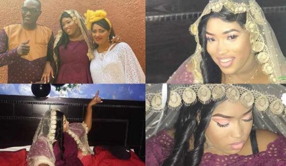 Machallah ! Adja Mbaye,la fille d'Alioune Mbaye Nder s'est mariée,Voici les images de la cérémonie