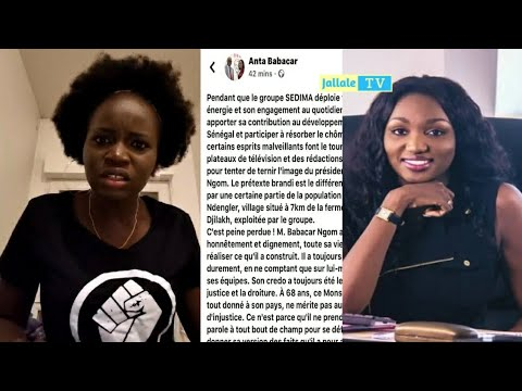 Cette fille «détruit» Anta Babacar la fille de Babacar Ngom