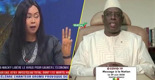 Maimouna Bousso sur le discours du président: « Daniou Ame Yakaar Gou Tass Tiiss Ak Ndiaxlé »