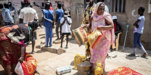 Aide alimentaire: Des familles touchées d'extrême pauvreté revendent leurs kits