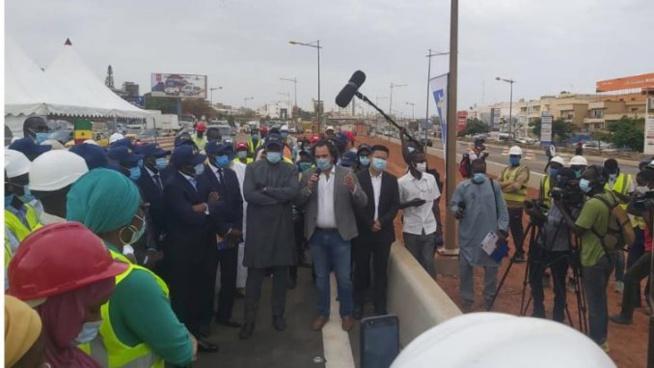 Circulation de l'auto-pont Saint Lazare : Oumar Youm à la Cérémonie d'ouverture…(photos)