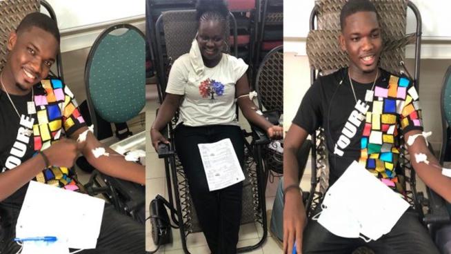 Manque de poches de sang : Le député Maire de Grand Dakar Jean Baptiste Diouf mobilise ses jeunes et lance une campagne de Don de sang