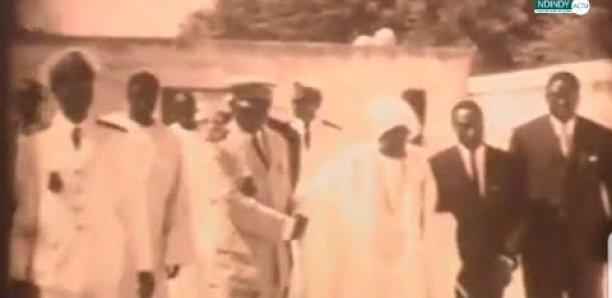 Images rares du jour du rappel à Dieu de Serigne Fallou Mbacké en 1968… Regardez !