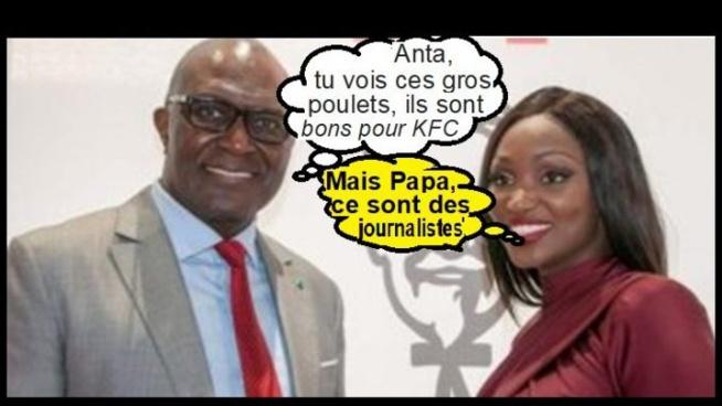 Babacar Ngom met en cage la presse…Comme ses poulets