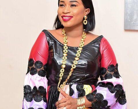 Tendances mode Tabaski 2020 : Aida Samb apporte sa touche de glamour avec ses quelques kilos « Jongama ba yakhou »
