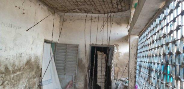 Kaolack : L'effondrement d'une dalle fait deux blessés