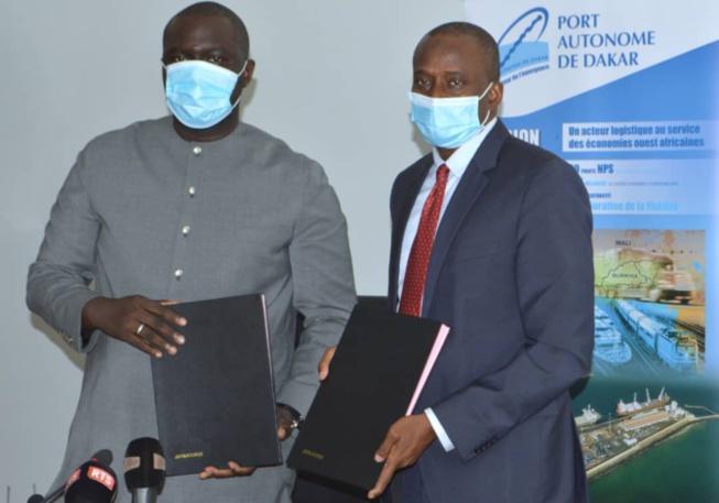 Programme « Sénégal zéro déchet » : Le ministère de l'Urbanisme, du Logement et de l'Hygiène publique et la fondation du Port signent une convention de partenariat