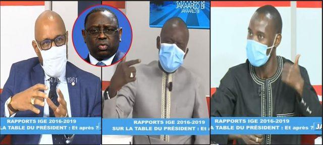 Daouda Mine, Papis Diaw et Charles Faye sur les rapports de l'Ige: « Gni Kasso ba Gneulé sén Keur… »