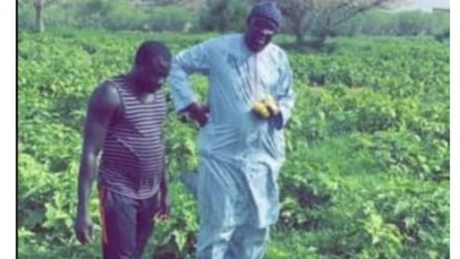 Déclaré malade et alité : Moustapha Cissé Lo a été aperçu dans…