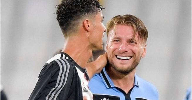 Auteurs de 30 buts chacun, Ciro Immobile révèle ce que Cristiano lui a dit à la fin du match Juve-Lazio