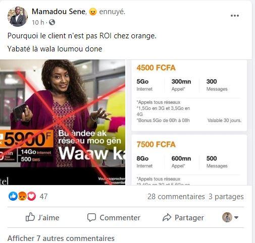 Orange augmente encore ses pass et subit la fureur de ses abonnés :Vers un nouveau boycott des consommateurs