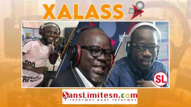 Xalass RFM du Jeudi 23 Juillet 2020 Mamadou Mouhamed Ndiaye,Ndoye Bane et Abba no stress