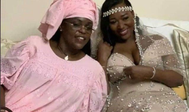 Mariage de la fille de l'ancien ministre Ousmane Masseck Ndiaye : Marième Faye Sall toute ravissante