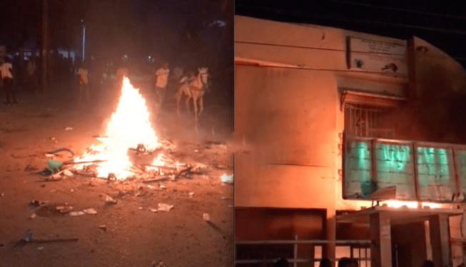 Saccage et incendie Mairie Keur Massar: 22 marchands ambulants interpellés