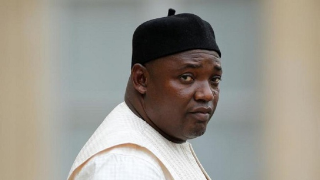 Gambie - Covid -19 - Le Président Adama Barrow mis en quarantaine