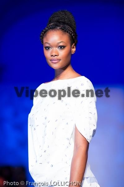 La belle Haby Taylor Sall au fashion week Paris
