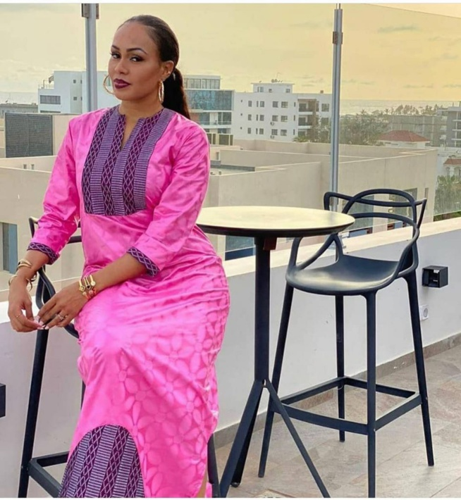 Tabaski 2020 : Vêtue d'un Sagnsé à couper le souffle, Dalanda de la serie MDHM frappe fort