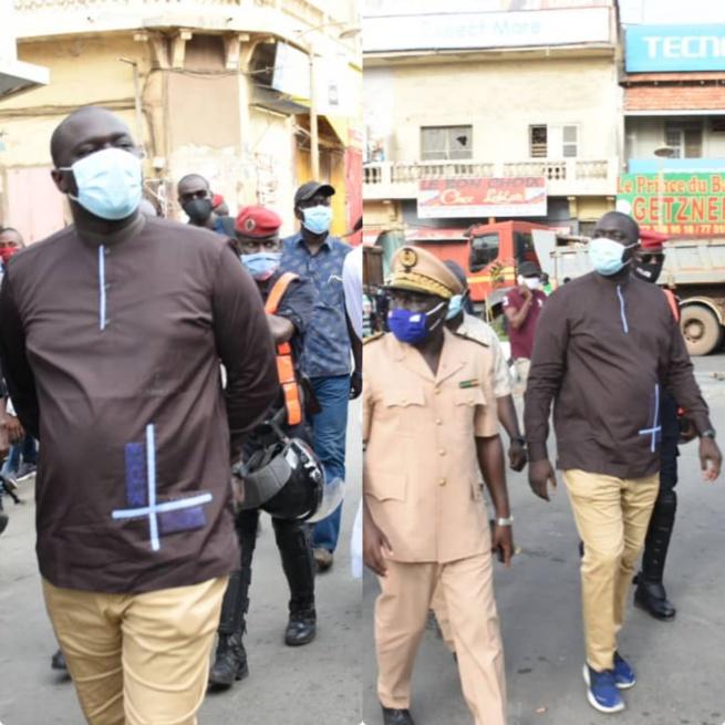Démolition du Marché Sandaga : « Nous sommes arrivés à un consensus avec les commerçants » (Abdou Karim Fofana)