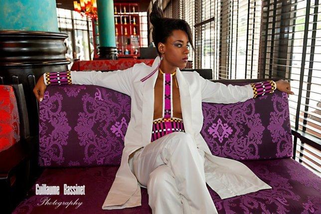 Dyana Seck et son look japonais