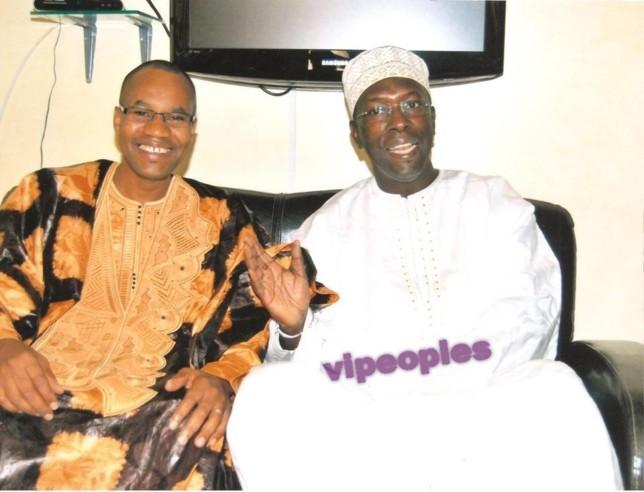 Mamadou Ibra Kane et Souleymane Ndene Ndiaye, le jour de la tabaski